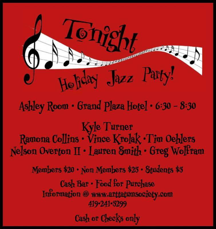 Holiday Jazz Party Tonight