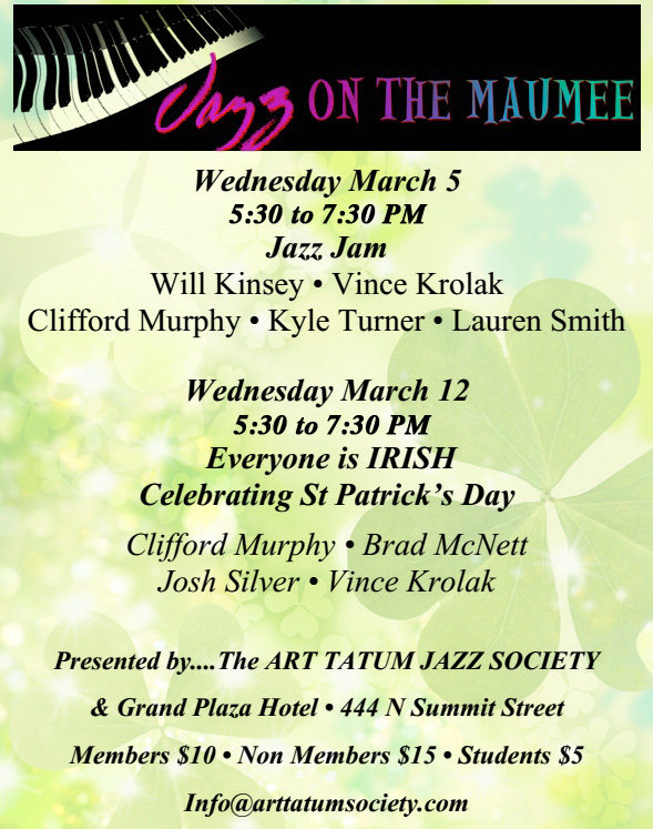 March Jazz On The Maumee