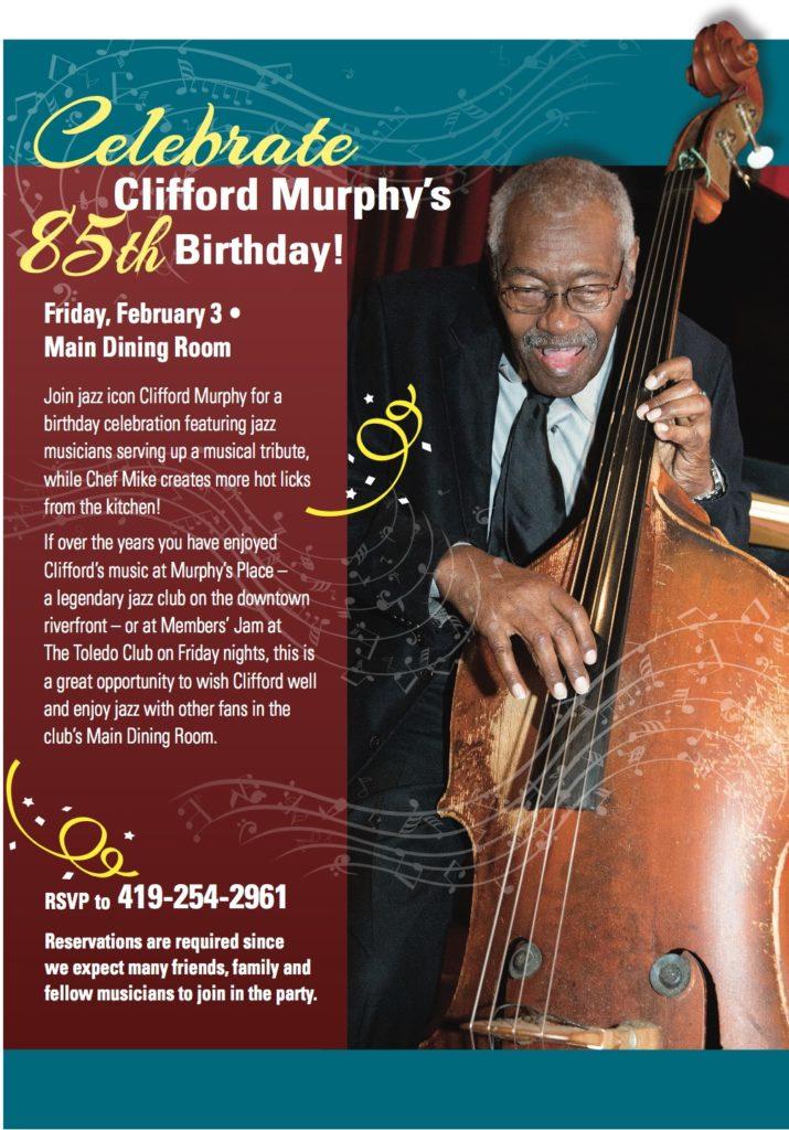 Clifford Murphy's 85th Birthday