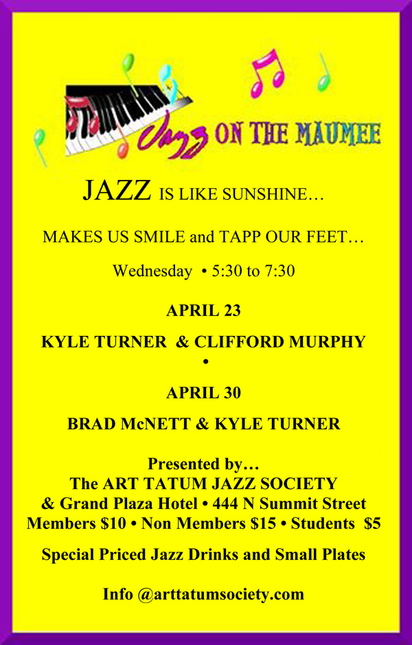 April Jazz for YOU!