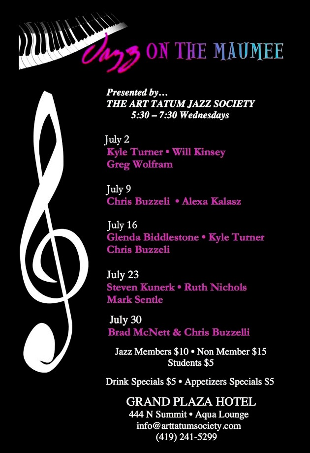 Jazz On The Maumee - July